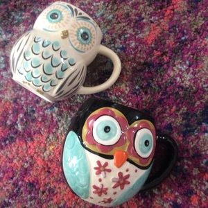 2 Owl Coffee Mugs